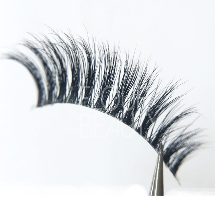 3D invisible bands long eyelashes China wholesale EJ83